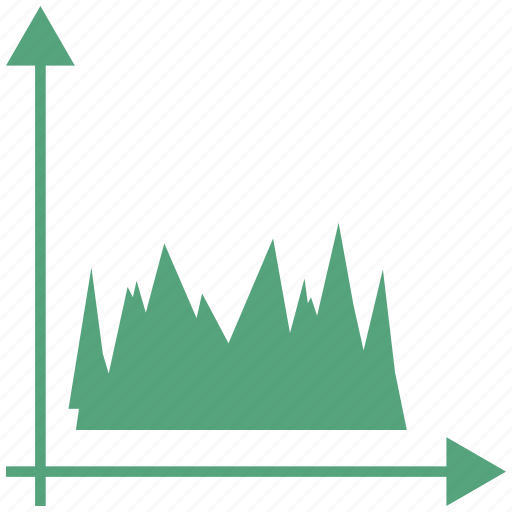 Report, graph, growth, grow icon