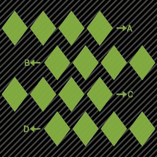 Bar, chart, arrow icon