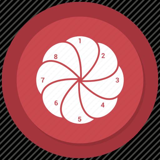 analytics, graph, line graph, pie chart, presentation icon