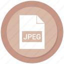 file format, image, jpeg icon
