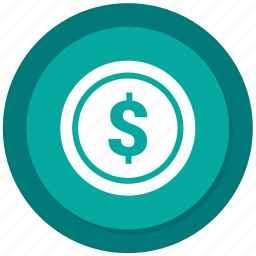 currency, dollar, money, sign icon