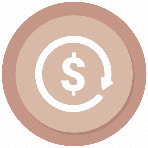 clock, dollar, history, money icon