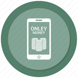 call, communication, iphone, mobile, money, online money send icon