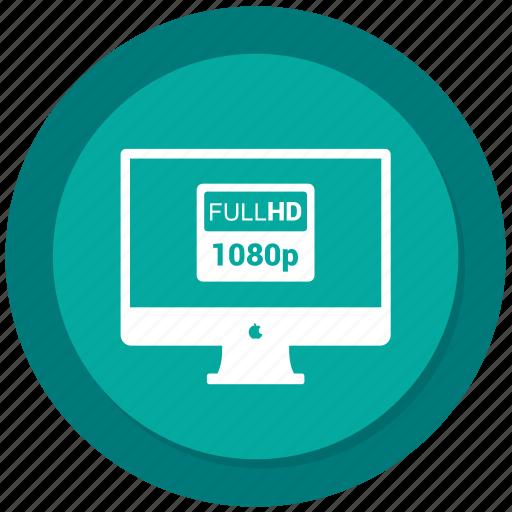 computer, desktop, display, full hd, imac icon