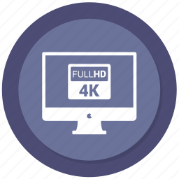 computer, desktop, display, full hd, imac, monitor icon