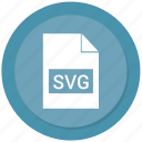 filetypes, svg file icon