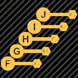 bar, chart, data, diagram, growth bar, infographic icon