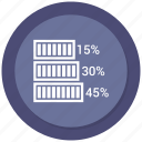 analysis, bar chart, bar graph, chart, graph, music bar icon