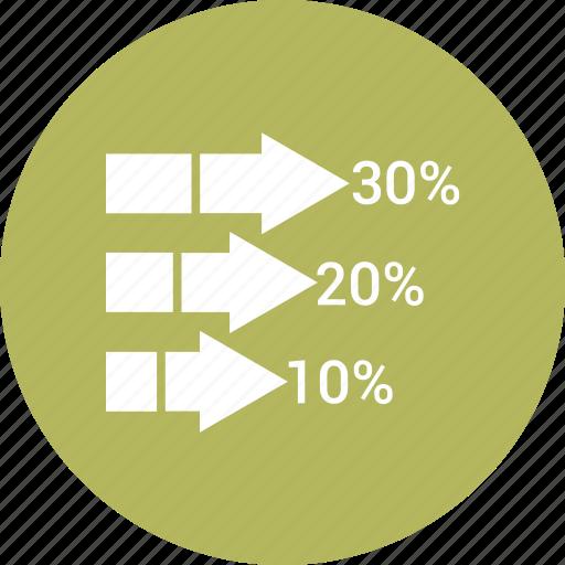 accounting, analytics, bar, earnings, graph icon