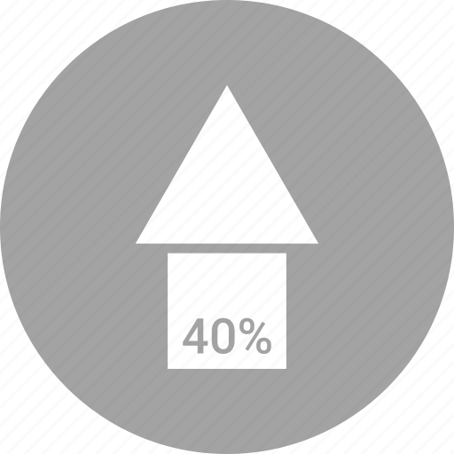 arrow, direction, forty, orientation, up icon