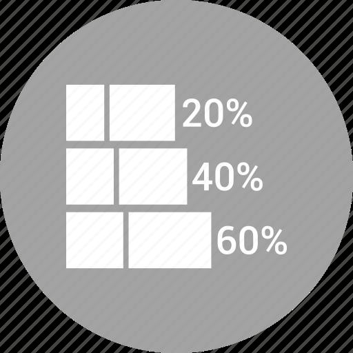 bar, chart, financial, graph, market, report, stock icon