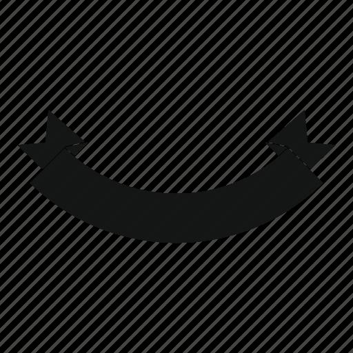 art, banner, blank, origami, ribbon, style, web icon