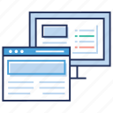 browser, dashboard, preference setting, web dashboard configuration, web page icon