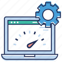 browser, dashboard, preference setting, web dashboard configuration, web setting icon