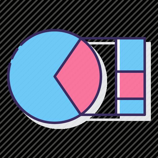bar, chart, pie icon