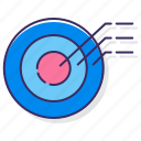 basic, diagram, target icon