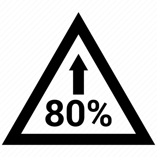 Arrow, eighty, financial, percentage, planning, pyramid, retirement icon - Download on Iconfinder