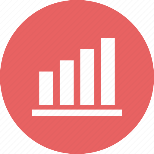 analytics, bars, chart, growth, increase icon