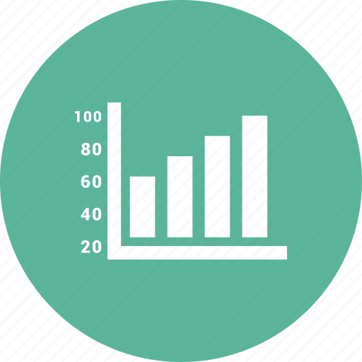 analytics, chart, growth, increase icon