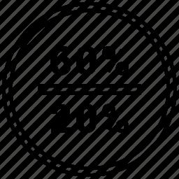 data, graphics, halt, info, sixty, twenty icon