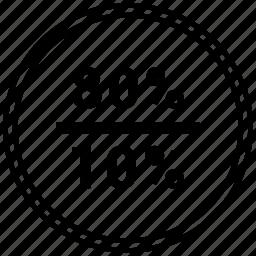 data, eighty, fifty, graphics, halt, info, ten icon