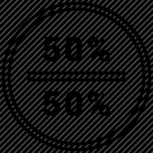 data, fifty, graphics, halt, info icon