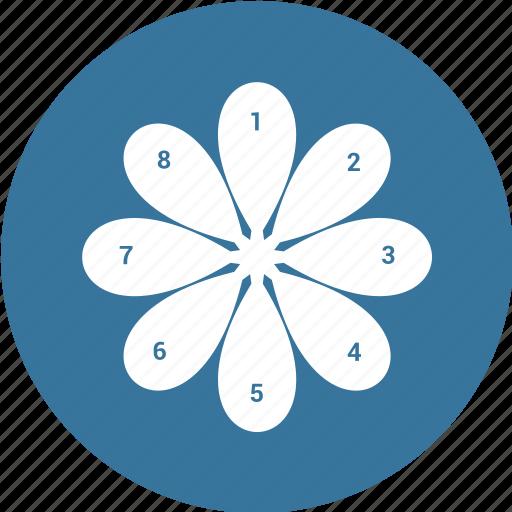 chart, graph, market, pie icon