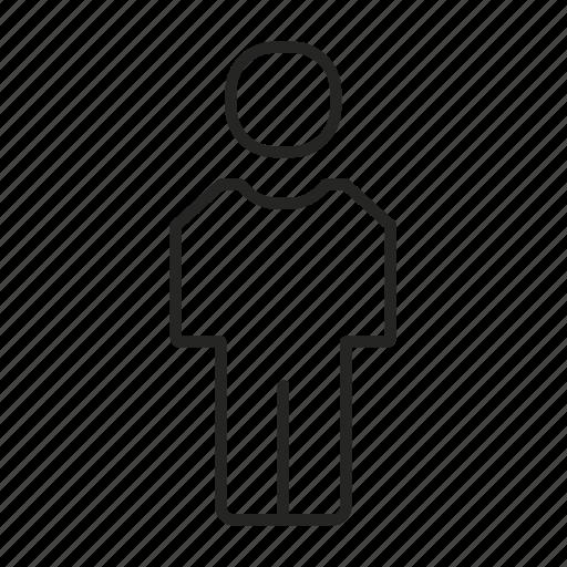 client, customer, employee, human, man, people icon