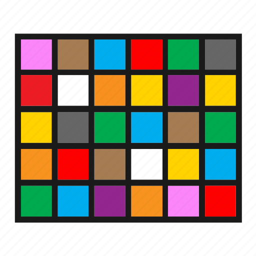 color, colorful, graph, graphic, grid, infographic, squares icon