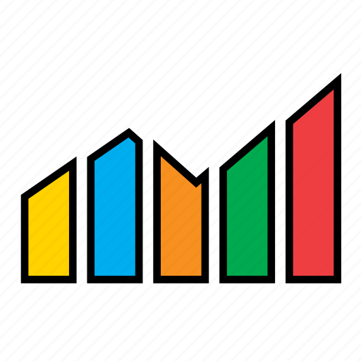 analytics, bars, business, chart, graph, infographic, sales icon