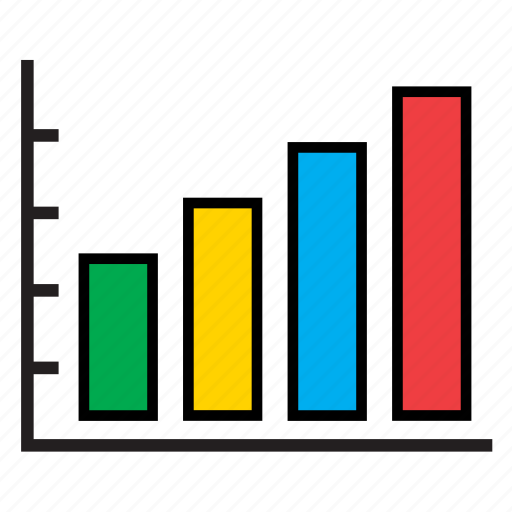 analytics bars business chart graph infographic sales icon