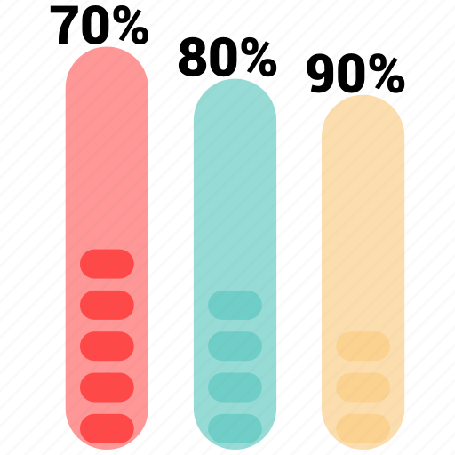 barchart, bars, data, infographic, information icon
