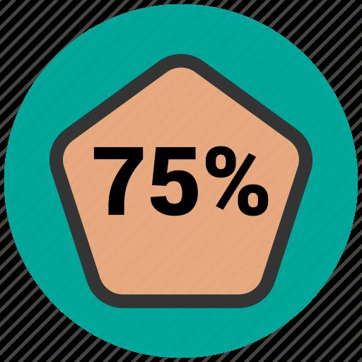 bars, data, infographic, information, percentage icon