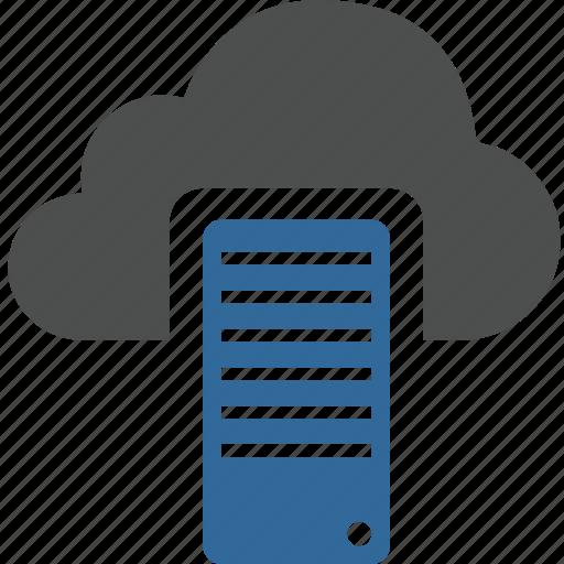 base, cloud, computing, data, internet, network, sever icon
