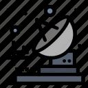 radio, telecommunication, transmitter icon