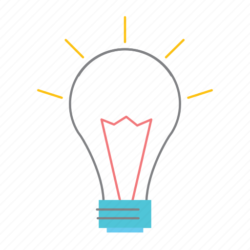 bulb, idea, inspiration, logic, start, startup, strategy icon