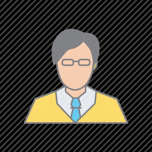 admin, business man, developer, executive, man, person, user icon