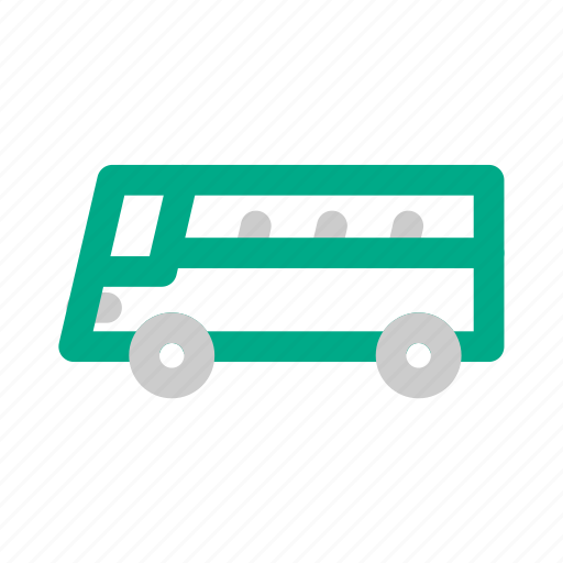 busses, infrastructure, mass transit, transportation icon