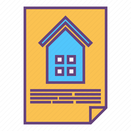 architecture, building, city, document, infrastructure icon