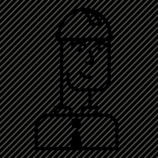 architecture, builder, building, face, foreman, helmet, smile icon