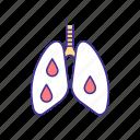 bleeding, pulmonary, pneumonia, inflammation