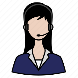 customer, official, support, tech support icon