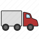 logistics, shipment, shipping, transport, truck icon