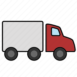 logistics, shipment, shipping, transport, truck icon