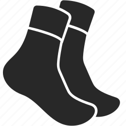 clothes, clothing, crew, mens, socks, tube icon