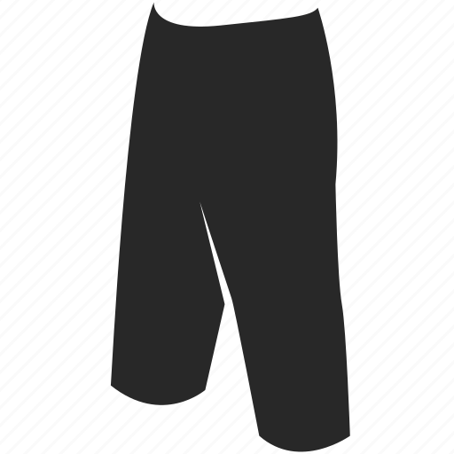 clothes, clothing, long, pants, shorts icon