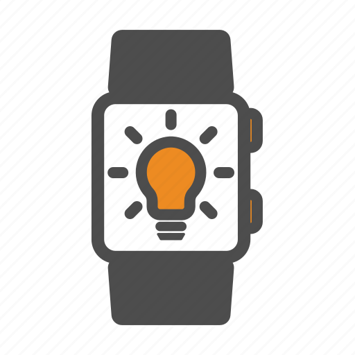 idea, innovation, smart, smartwatch, watch icon