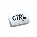 ctrl, keyboard, tutorial icon