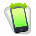 device, iphone, phone, shake, smartphone icon