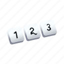 keyboard, numberpad, tutorial icon